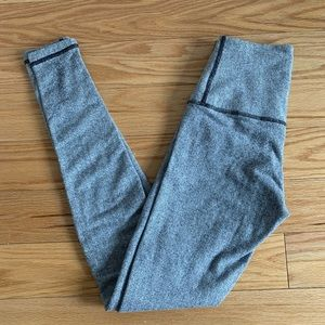 Lululemon fleece lined Wunder under pant